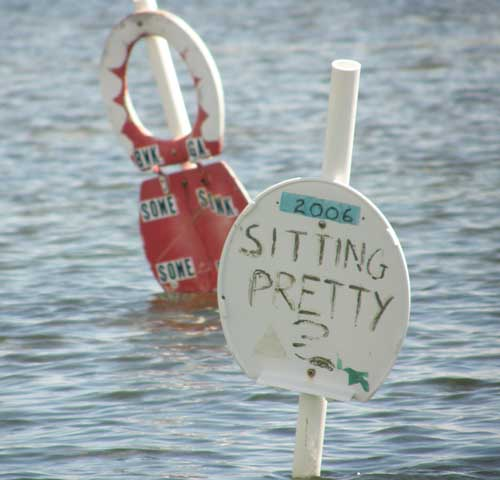 Toilet seats in the Florida Keys