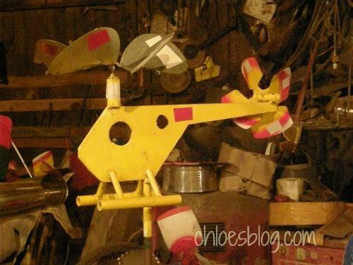 Whirligig at Big Mill B&B in eastern NC | chloesblog.com