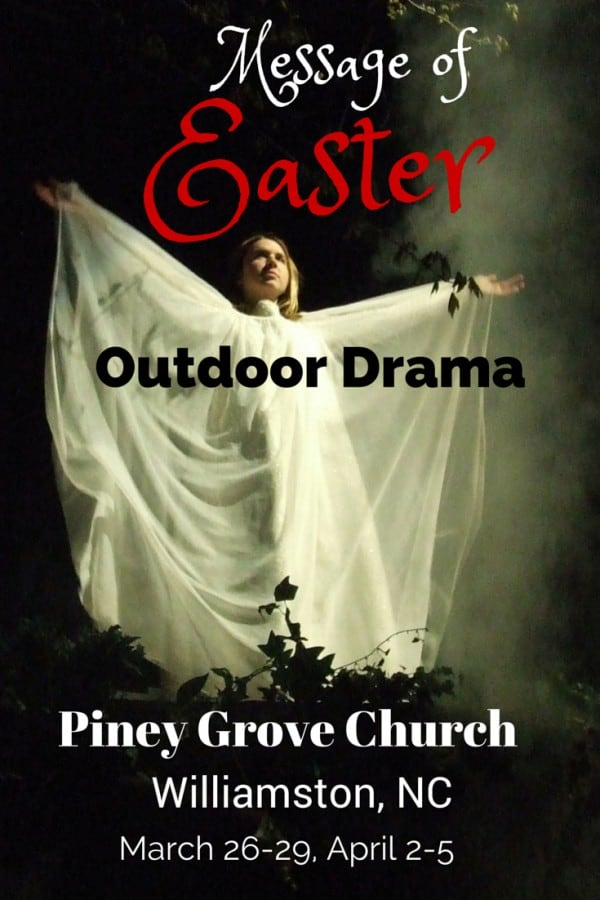 Message of Easter Outdoor Drame Williamston NC | http://chloesblog.bigmill.com/message-of-easter-outdoor-drama-2/
