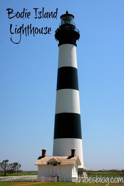 Bodie Island Lighthouse in coastal North Carolina has quite a history. Read more on Chloe's Blog about the highlights -- fascinating stuff.  | chloesblog.com