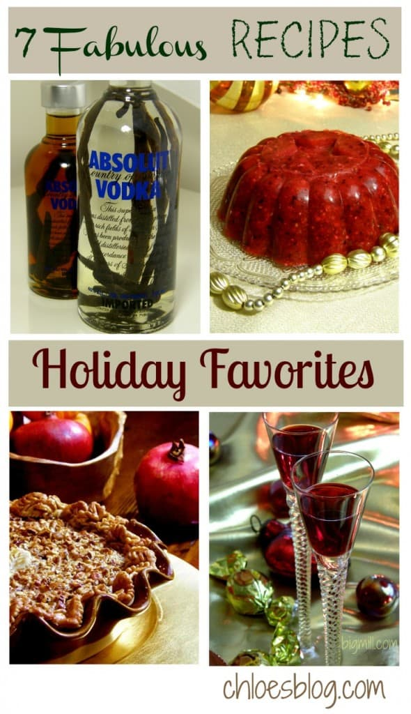 Favorite Recipes for the holidays from Big Mill | chloesblog.bigmill.com