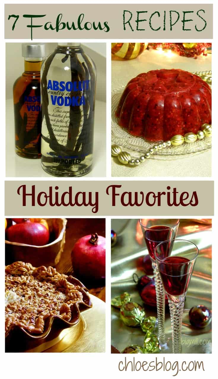 Love, love, love these 7 fabulous recipes for the holidays from the innkeeper at Big Mill Bed and Breakfast | chloesblog.bigmill.com