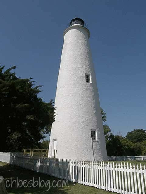 Ocracoke Lighthouse - fun thing to do in the Outer Banks, NC @BigMill | www.chloesblog.bigmill.com/ocracoke-lighthouse-on-the-outer-banks