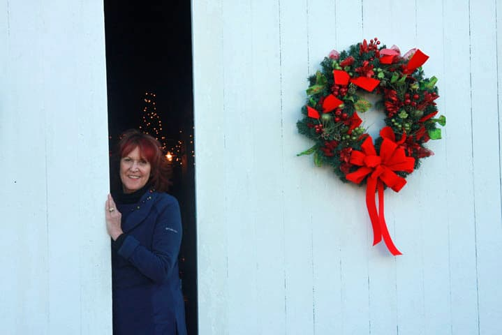 Chloe Tuttle Innkeeper says Happy Holidays from Eastern NC Bed and Breakfast